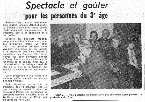 Club du 3éme age 1977