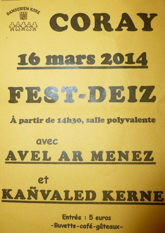 CORAY  : Fest-Deiz