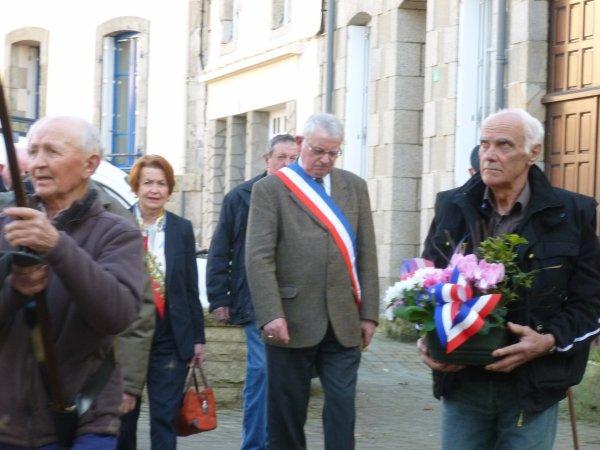 CORAY  : Commémoration du 19 Mars 1962.