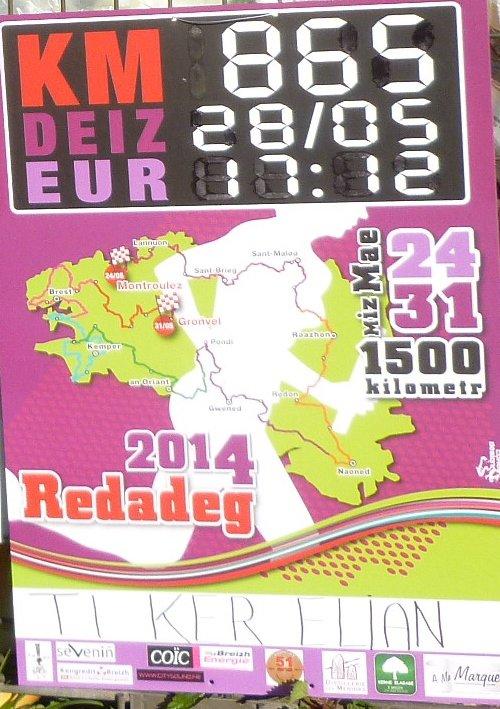 CORAY  : Préparation de la Redadeg (1)