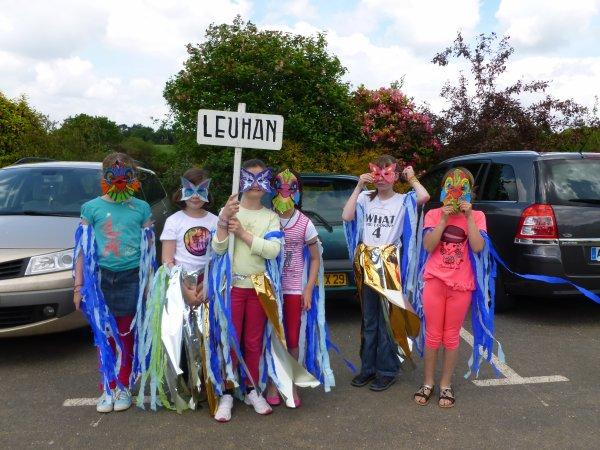 CORAY  : Kermesse des écoles.(1) le défilé