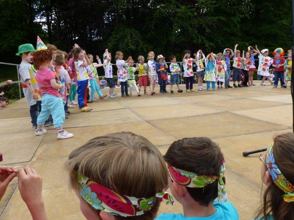 CORAY  : Kermesse des écoles (2) le spectacle