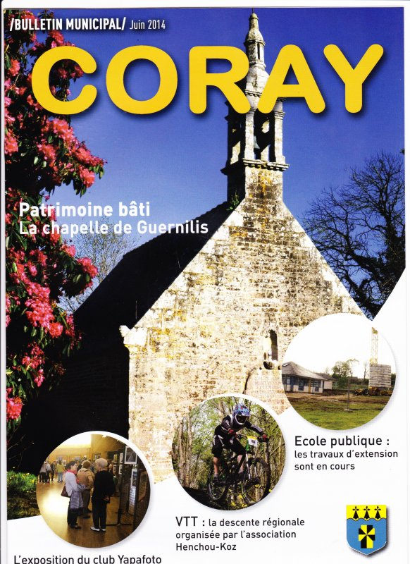 CORAY  : Bulletin Municipal. N°36.