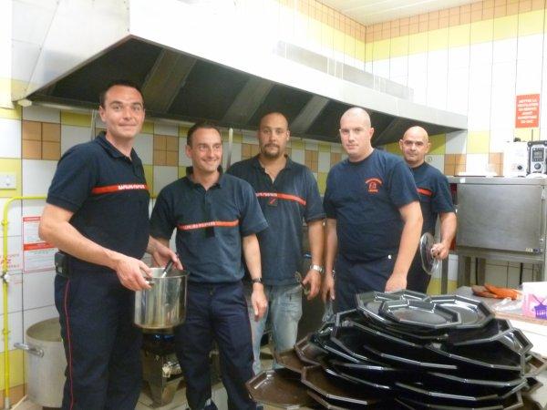 LEUHAN  : Choucroute des Sapeurs-Pompiers.