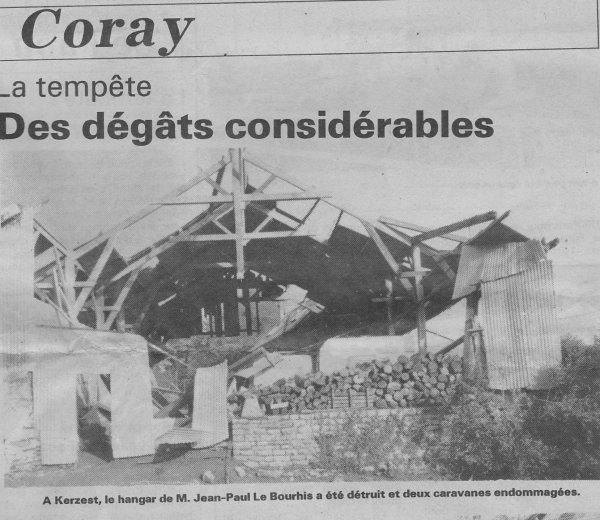 CORAY  : Il y a 27 ans déjà .......