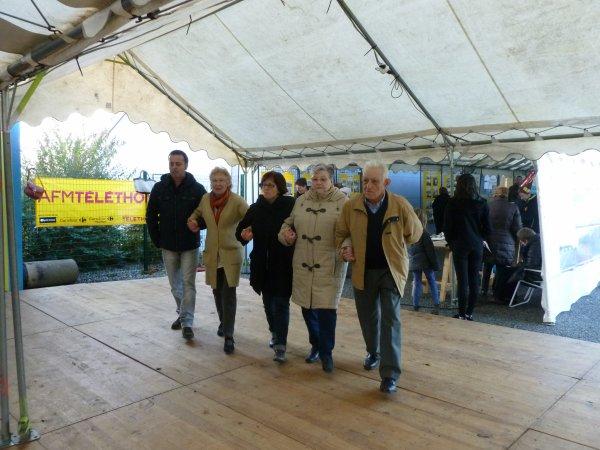 CORAY : Téléthon les danses bretonnes et modernes (2)