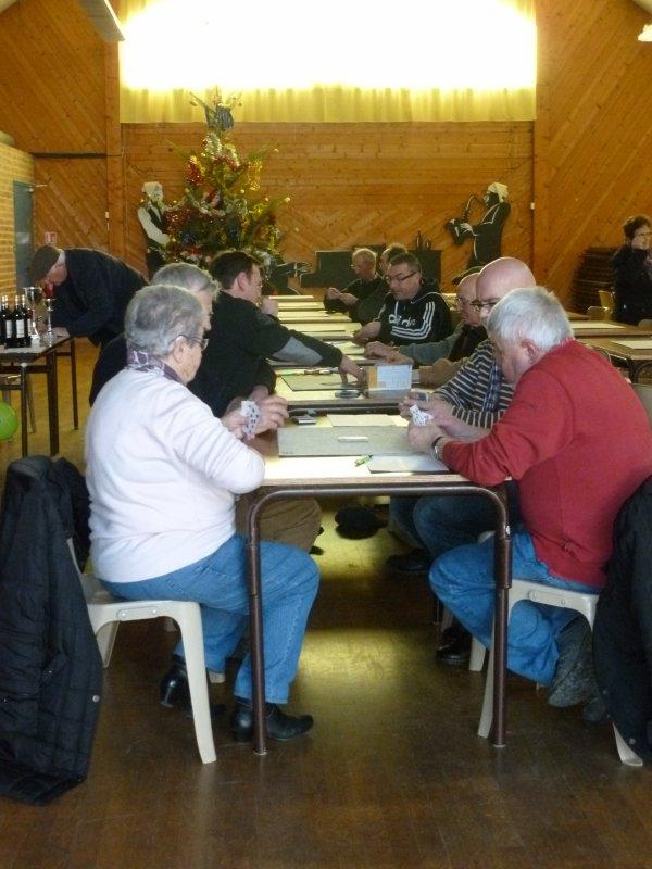 CORAY  : Concours de belote.