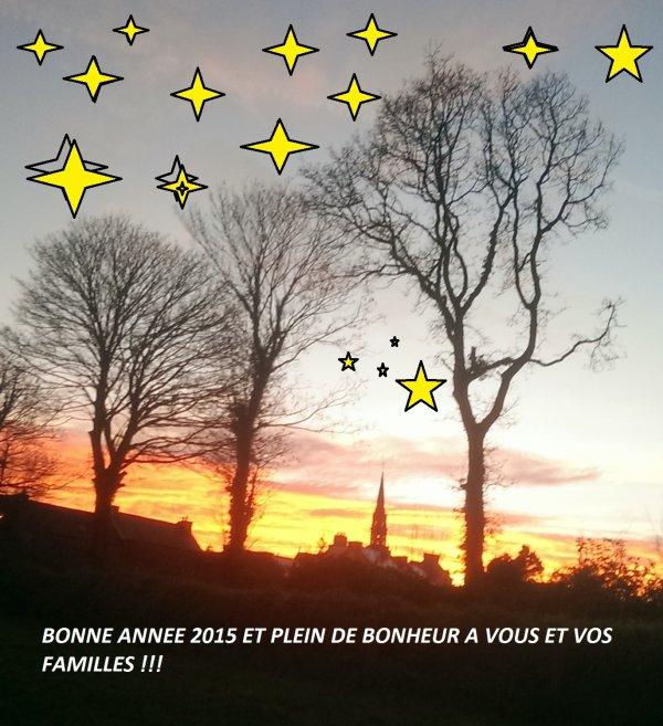 CORAY  : Bonne et heureuse année 2015