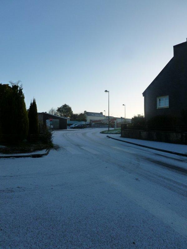 CORAY  : 1er Février : un manteau blanc........