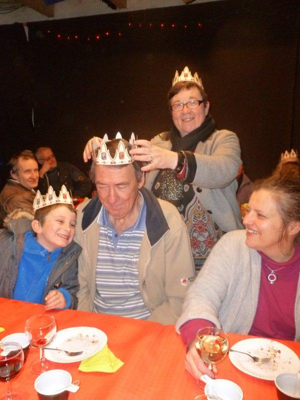 CORAY  : Galette des Rois des voisins.