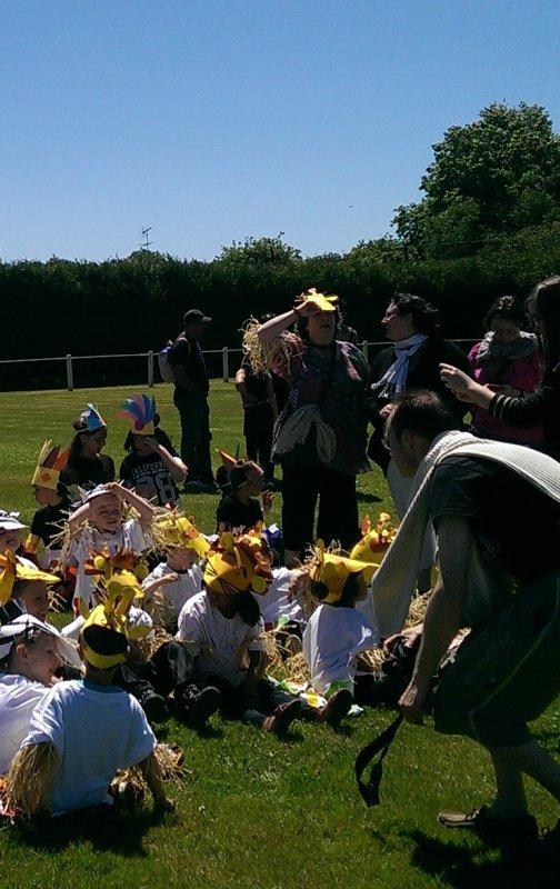 LEUHAN  : Kermesse des école à Laz (1).