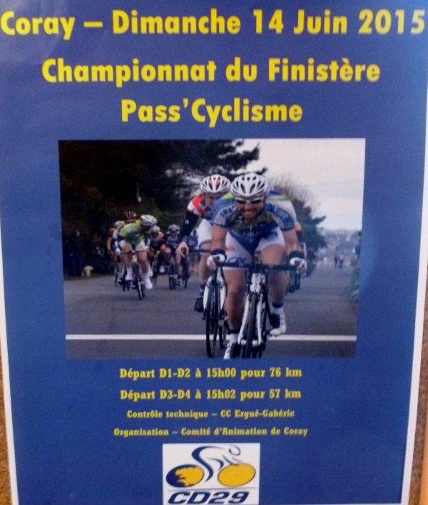 CORAY : Championnat de Finistère.