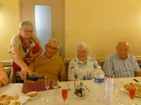 CORAY  : repas du club de Pors-Clos.