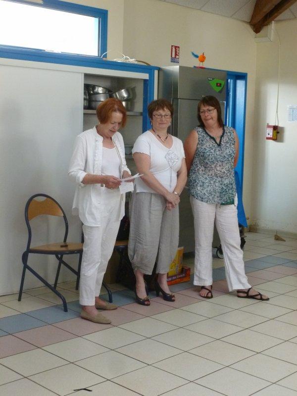 CORAY  : La directrice de l'école Publique a rendu les clés....