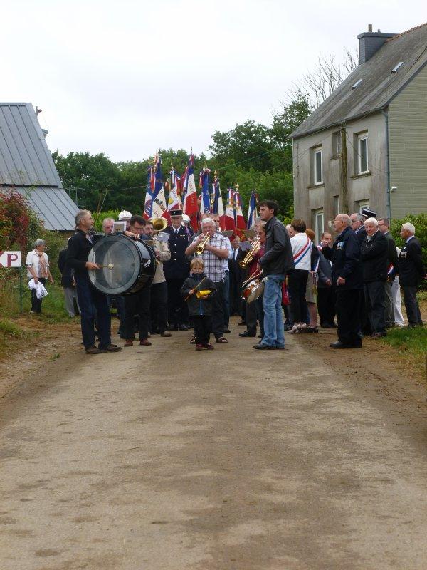 Cérémonie du 14 Juillet (Quillien) Tourc'h (2)
