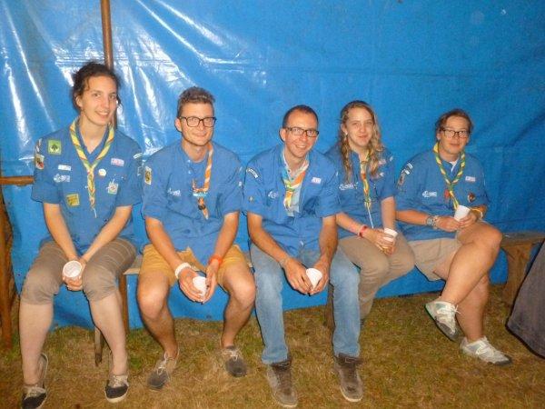 LEUHAN: Les scouts de France.