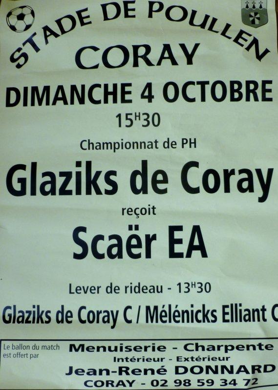 CORAY : Le Derby : CORAY-SCAËR