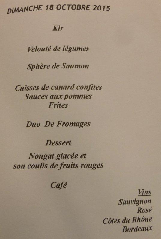 CORAY  : Repas des Anciens. (1)
