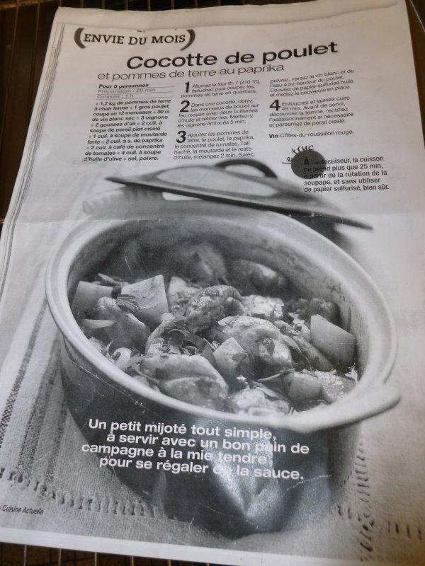 CORAY  : Cours de cuisine.