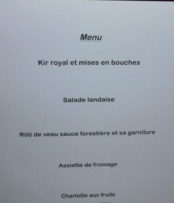 LEUHAN: Repas de Leuhan-Accueil. (1)