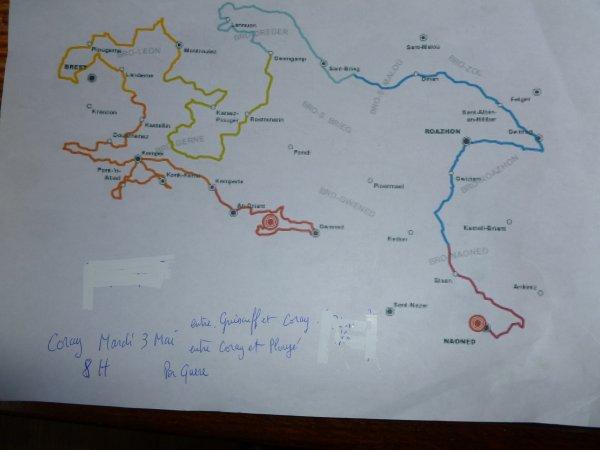 CORAY : Passage de la Redadeg.(1)