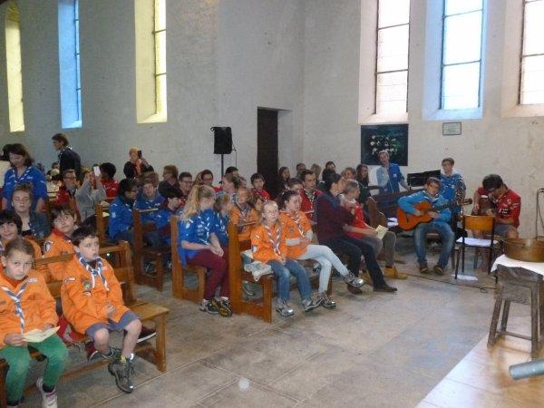 LEUHAN  : Cérémonie à Lourdes. (1)