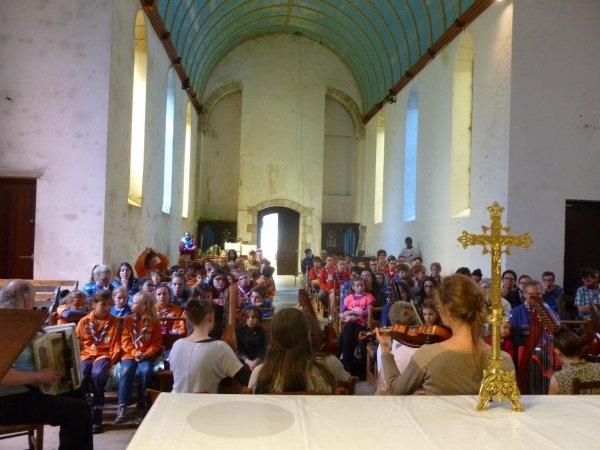 LEUHAN: Concert à Lourdes.