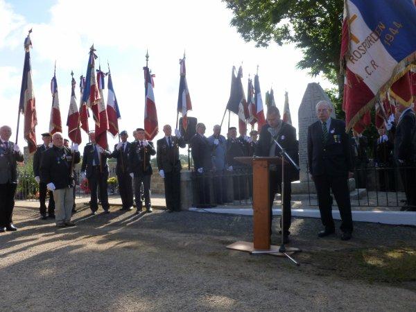 CORAY  : Cérémonies du 14 juillet (2)
