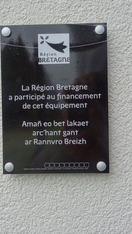 CORAY  : Inauguration de l'Espace Jean-Pérennec   (1)