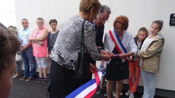 CORAY  : Inauguration de l'Espace Jean-Pérennec   (2)