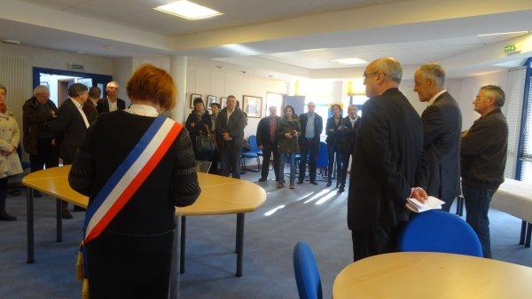 CORAY  : inauguration de la MSAP (Maison de Services Au Public) (2)