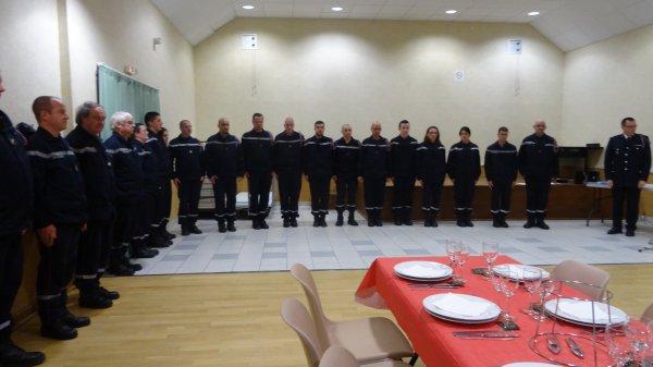 LEUHAN : Les Sapeurs-Pompiers fêtent la Sainte-Barbe.(1)
