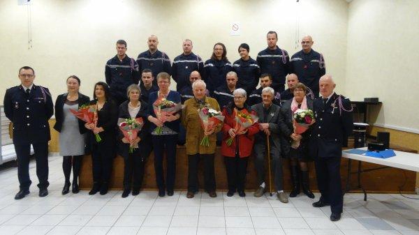 LEUHAN : Les Sapeurs-Pompiers fêtent la Sainte-Barbe (2).