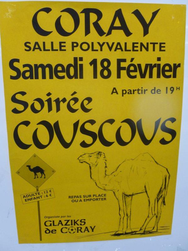 CORAY  : Couscous des Glaziks.