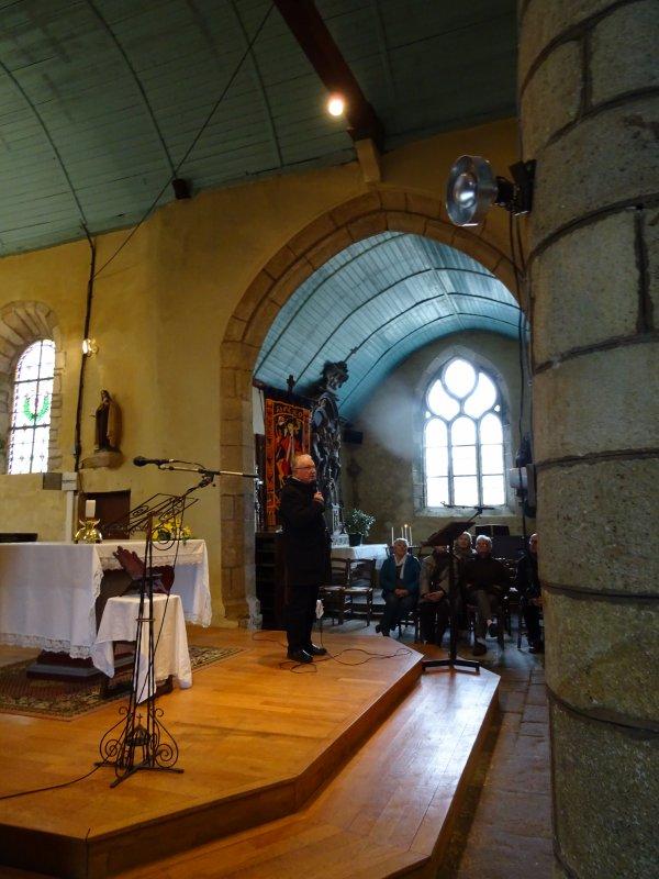 LEUHAN : Visite de l'église dimanche. (1)