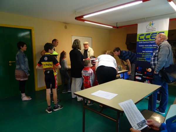 CORAY  : Courses cyclistes. (1)