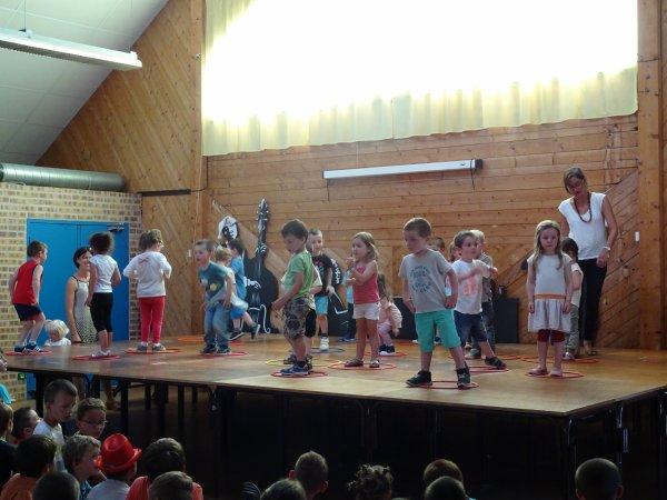CORAY: Spectacle de l'école de Leurgadoret. (1)