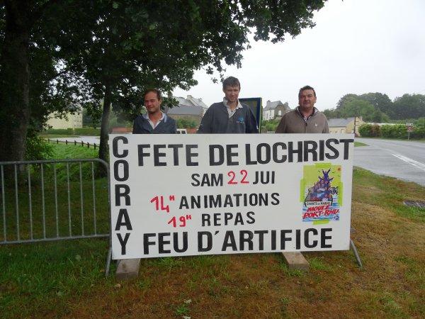 CORAY  : Fête de Lochrist.(1)