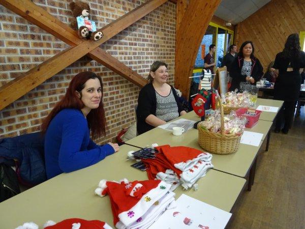 CORAY : Le Père-Noël en visite à la salle polyvalente (1)