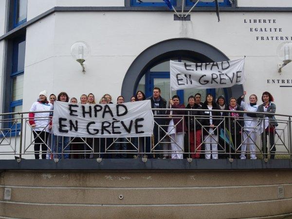 CORAY  :  Débrayage à l'EHPAD