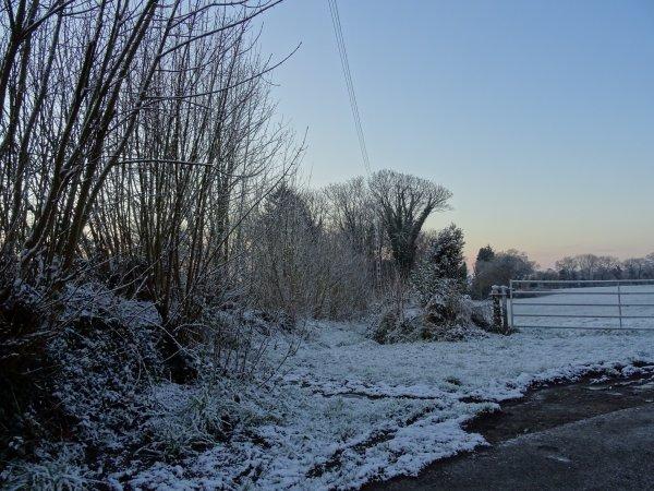 CORAY : La neige a tenu......