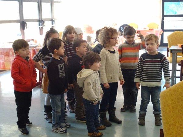 CORAY : La classe bilingue à l'EHPAD