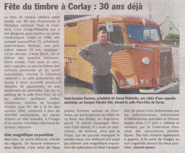 CORAY : La Fête du timbre.(3)