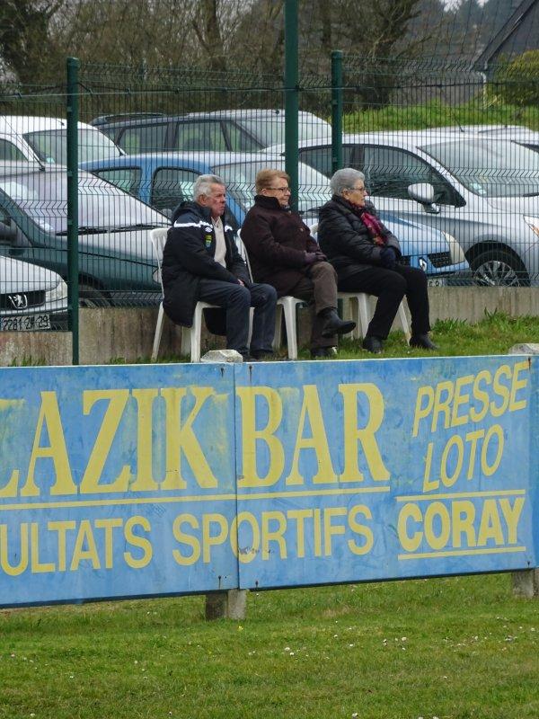 CORAY  : Le derby Glaziks-En Avant Scaër (1)
