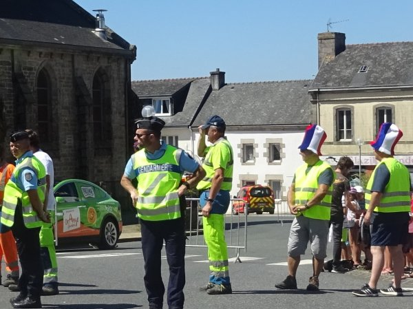 CORAY : Passage du Tour de France (2)