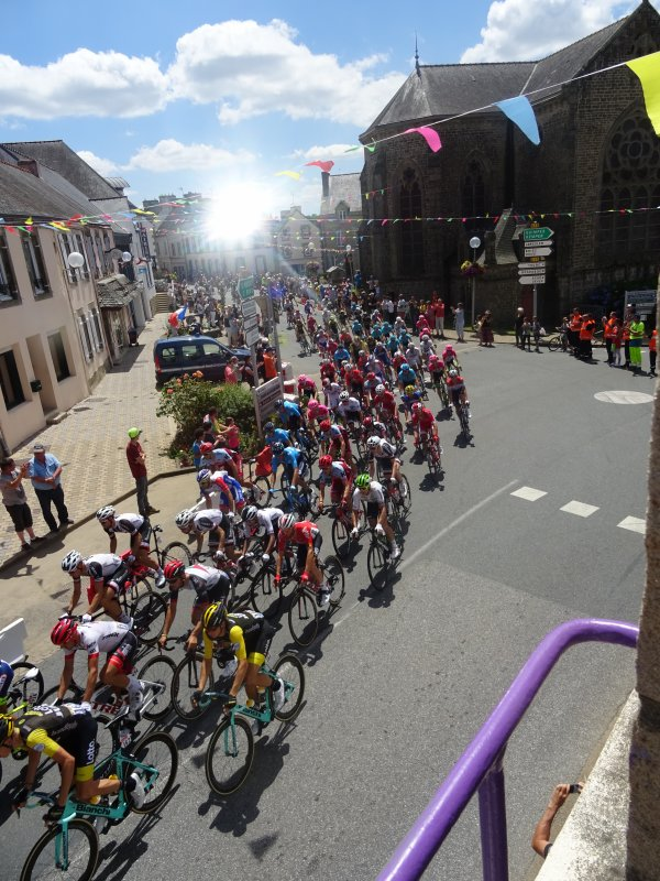 CORAY : Passage du Tour de France (3)