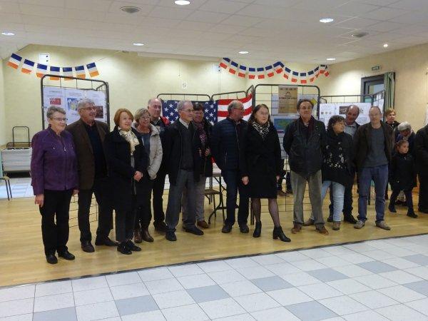 Leuhan : Inauguration de l'expo 14-18