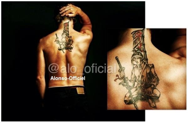 Le Tatouage de Fernando Alonso     ( + ) Aurevoir Vacances, Bonjour Entrainement.