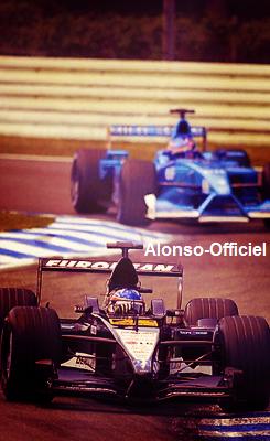 Les saisons de Fernando Alonso, Partie I : Minardi (2001)    ( + ) Citations et Photos d' Alonso