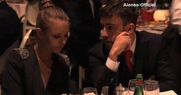 Rituel diner de Ferrari, avec Fernando Alonso    Les Félicitations de l'année 2012 et les Projets de 2013.